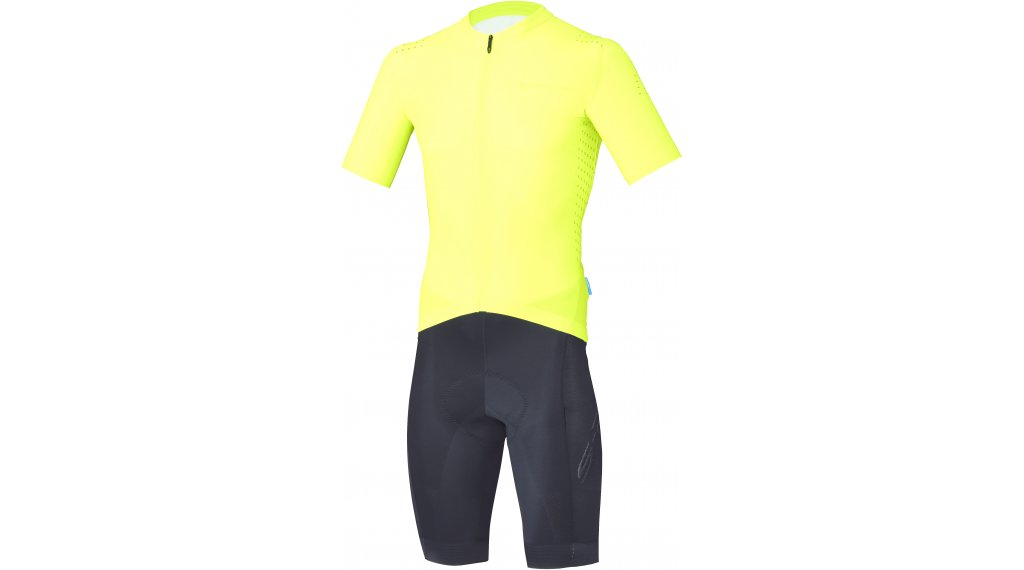 Shimano S-Phyre Racing Skin Suit II Body 男士 型号 XL yellow