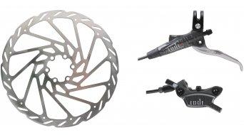 Avid Code R freno de disco rueda delantera 203mm (incl. disco y IS2000-adaptador) 900mm  Leitung graphite grey