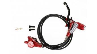 Hope Tech 3 X2 Red Edition kotoučová brzda sada kolo (bez kotouče a adaptéru)