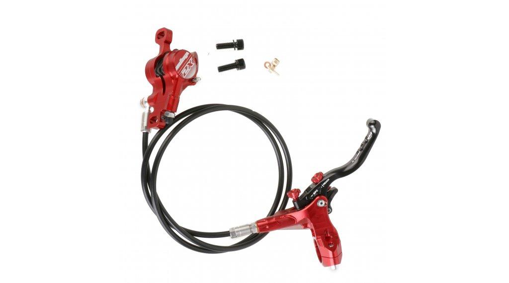 Hope Tech 3 X2 Red Front /& Rear Black Hose Brake Set Brand New