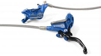 Hope Tech 3 V4 Blue Edition Stahlflex kotoučová brzda sada kolo (bez kotouče a adaptéru)