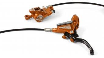 Hope Tech 3 X2 Orange Edition kotoučová brzda sada kolo (bez kotouče a adaptéru)
