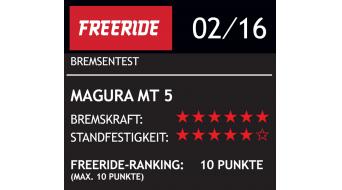 Magura MT5 Carbotecture freins à disque roue arrière, 160mm, IS, Storm HC, Mod. 2019