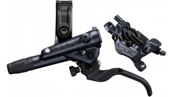 Shimano SLX M7120 I-Spec EV disc brake wheel PostMount (without disc and adapter) (incl. N03A Resin with Kühlrippen) black