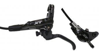 Shimano XT M8000 juego de frenos de disco rueda delantera izq. 1000mm-latiguillo G02A-Resin-Pad (sin disco y adaptador)