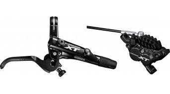 Shimano XT M8000 / M8020 Scheibenbremse Hinterrad rechts 1700mm-Leitung H01A-Resin-Pad (ohne Scheibe und Adapter)