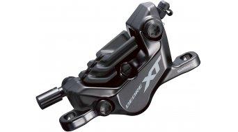 Shimano XT BR-M8120 Trail MTB Bremssattel VR oder HR PM (inkl. N03A Resin m. Kühlrippen) schwarz