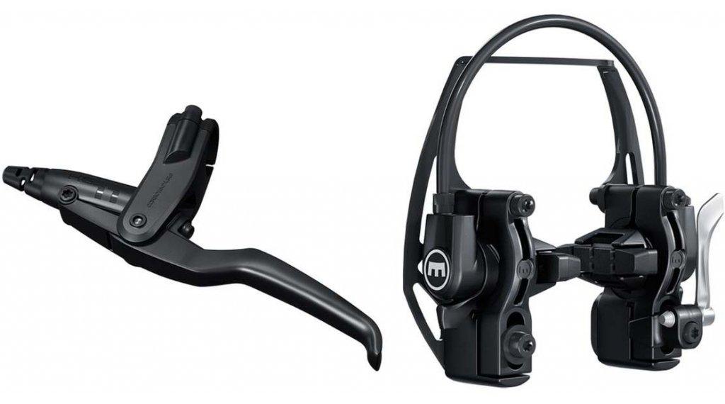 Magura HS11 液压式的 轮缘刹 Easy Mount-Anbau 黑色