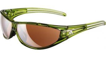 Adidas Evil Eye Brille Gr. S glanzgrün weiß/ LST Active