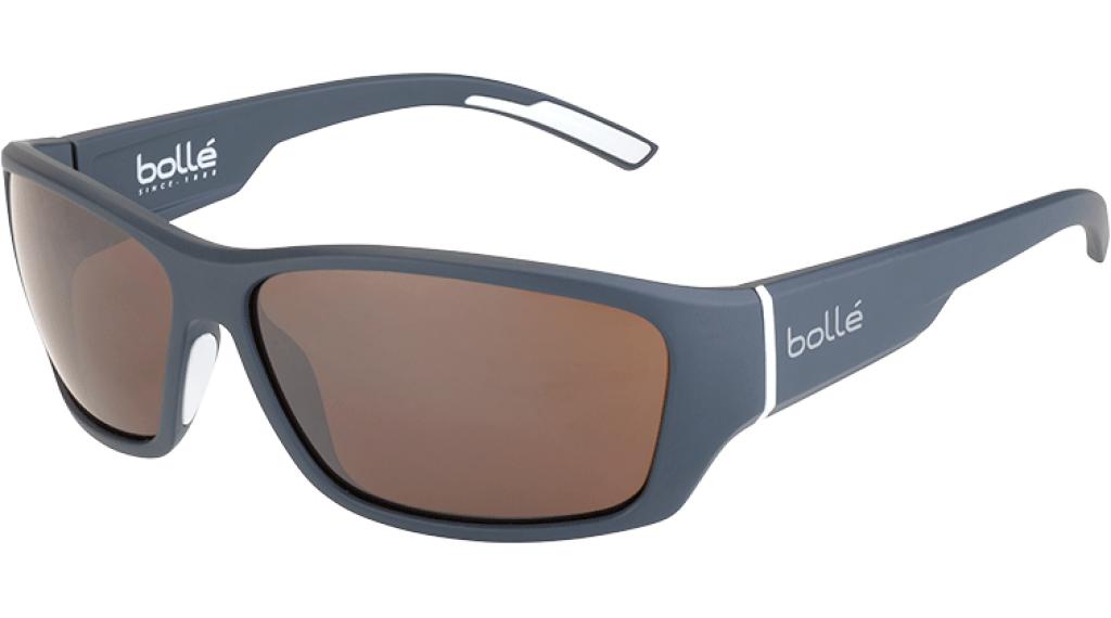 Bollé Ibex Brille matte grey/white//Bollé 100 gun