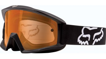 Fox Main Enduro MX Goggle negro/naranja