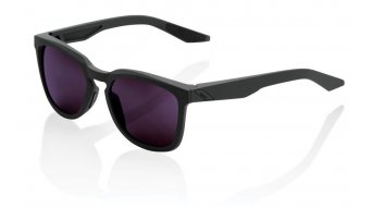 100% Hudson Sportbrille Gr. unisize soft tact midnight mauve (Smoke-lens)