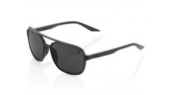 100% Kasia Aviator round Sonnenbrille Gr. unisize matte black (Mirror-Lens)