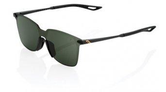 100% Legere Ultra Carbon square Sonnenbrille Gr. unisize matte black (Smoke-Lens)