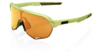 100% S2 Multilayer Occhiali da sole da ciclismo . unisize (Mirror-lens)