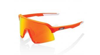 100% S3 Sonnenbrille Limited Edition Gr. unisize neon orange (Hiper-Mirror-Lens)