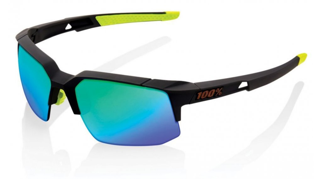 100% Speedcoupe Sportbrille Gr. unisize soft tact cool grey (Mirror-lens)