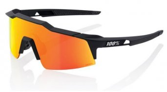100% Speedcraft XS Sportbrille 型号 均码 soft tact black (Hiper Multilayer Mirror Lens)