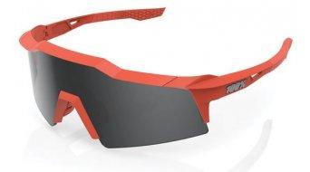 100% Speedcraft XS Sportbrille Gr. unisize soft tact coral (Smoke-Lens)