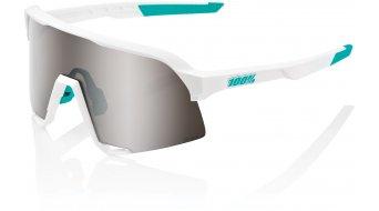 100% S3 BORA - hansgrohe Special Edition Sonnenbrille Gr. unisize team white (Mirror-lens)