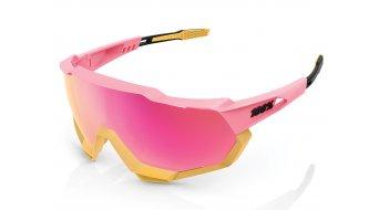 100% Speedtrap Sportbrille Gr._unisize_matte_washed_out_neon_pink_(Mirror-lens)