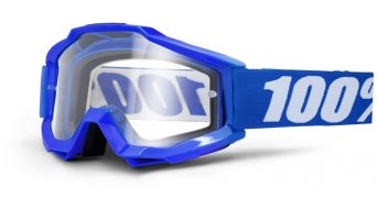 100% Accuri OTG (over the cristal) Goggle para Brillenträger (Anti-Fog Clear Lens)