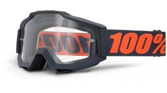 100% Accuri OTG Goggle für Brillenträger (Anti-Fog clear lens)