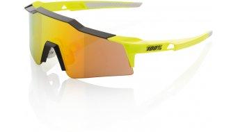 100% Speedcraft Sport gafas corto-lens (SL) color neón amarillo