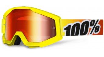 100% Strata Goggle (Anti-Fog mirror lens)