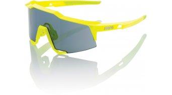100% Speedcraft Base Sport Brille standard-lens (STD) neon yellow (smoke-lens)