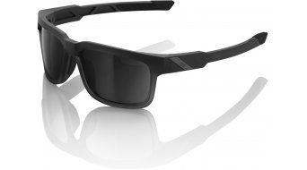 100% Type-S Lifestyle Brille soft touch black (grey smoke-lens)