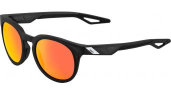 100% Campo HD Multilayer Sonnenbrille matte crystal negro (rojo Hiper-Lense)
