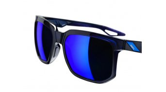 100% Centric Sonnenbrille polished translucent blue (Mirror-lens)