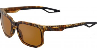 100% Centric Sonnenbrille Gr. unisize soft tact havana (PeakPolar-lens)