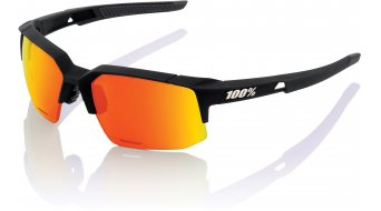 100% Speedcoupe HD Multilayer Sportbrille Gr. unisize soft tact black (Hiper-lens)