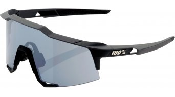 100% Speedcraft Sportbrille Gr. tall soft tact black (Smoke-lens)