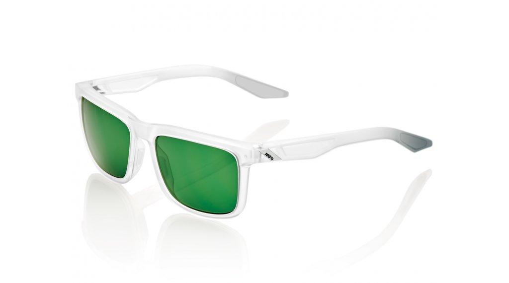 100% Blake Sportbrille Gr. unisize translucent crystal clear (Smoke-lens)