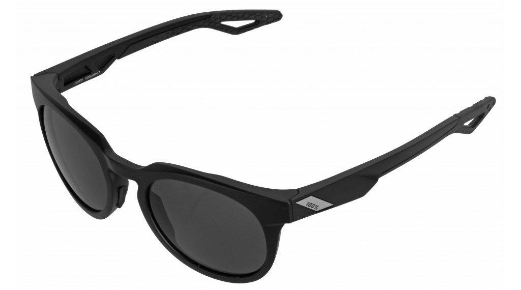 100% Campo Lifestyle Brille Gr. unisize matte black (Smoke lens)