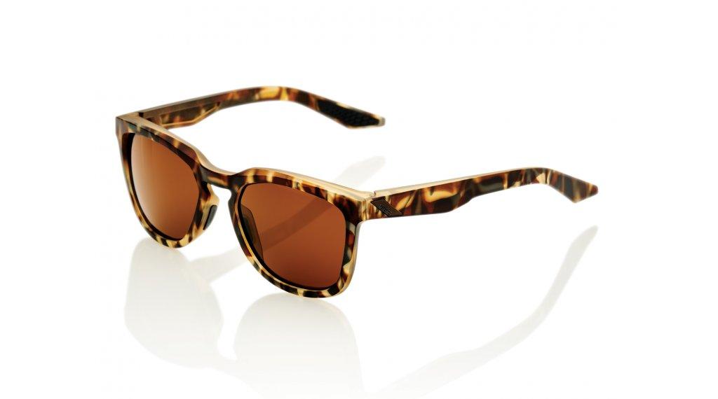 100% Hudson Sportbrille Gr. unisize matte havana (Smoke-lens)