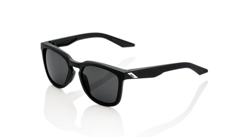 100% Hudson Sportbrille Gr. unisize soft tact black (Smoke-lens)