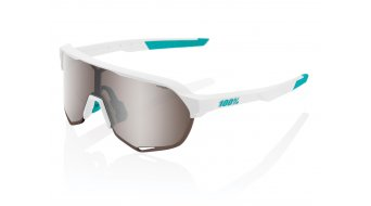 100% S2 BORA - hansgrohe Special Edition Sonnenbrille Gr. unisize team white (Mirror-lens)