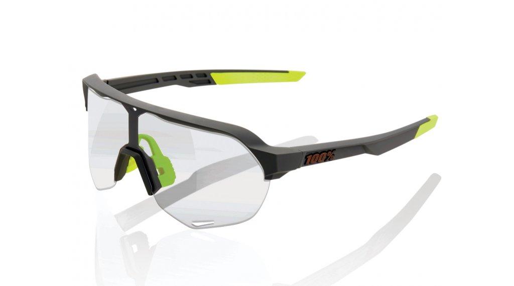 100% S2 Sonnenbrille Gr. unisize soft tact cool grey (Photochromic-lens)