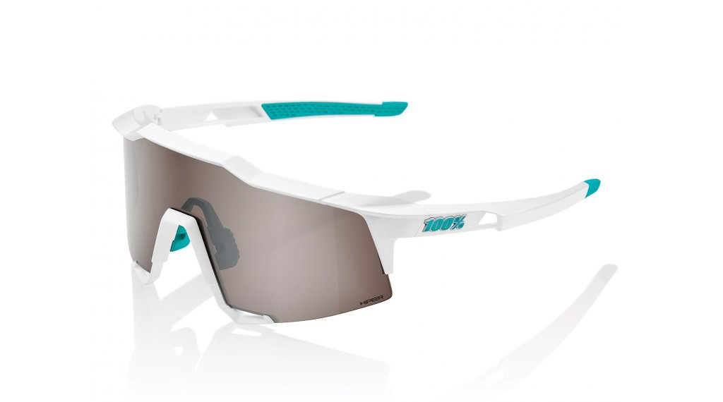 100% Speedcraft BORA - hansgrohe Special Edition Sport Brille Gr. unisize team white (Hiper-Lens)