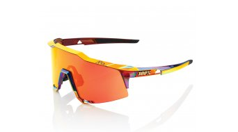 100% Speedcraft Sport gafas tamaño tall SaganLimited Edition Chromium rojo/soft tact negro