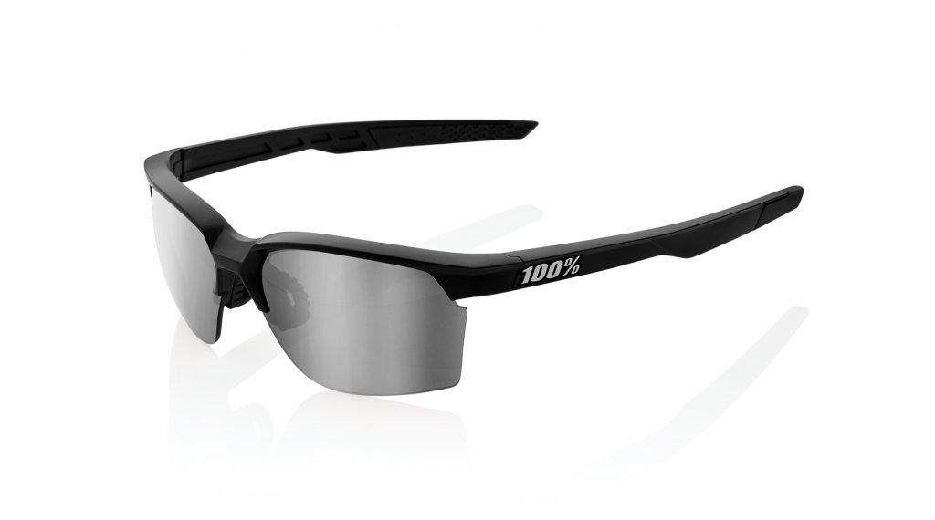 100% Sportcoupe Sportbrille tamaño unisize matte negro (Hiper-lens)