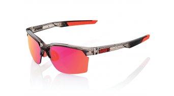 100% Sportcoupe Sport gafas unisize polished transl. crystal (Mirror-lense)