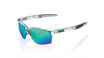 100% Sportcoupe Sport occhiali . unisize polished transl. crystal (Mirror-lense)