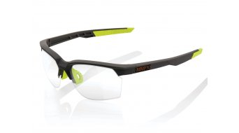 100% Sportcoupe Sportbrille Gr. unisize soft tact cool grey (Photochromic-lens)