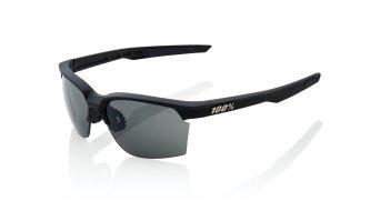 100% Sportcoupe Sport occhiali mis. unisize soft tact black (Smoke-lense)