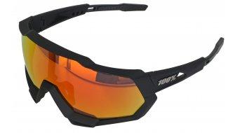 100% Speedtrap Sportbrille Gr. unisize soft tact black HD multilayer (Hiper-lens)